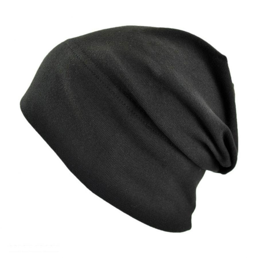 Slumbercap Slouchy Cotton Beanie Hat Beanies da9006373d1
