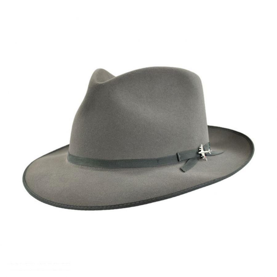 dcadf825e4ec36 Stetson Stratoliner Fur Felt Fedora Hat All Fedoras