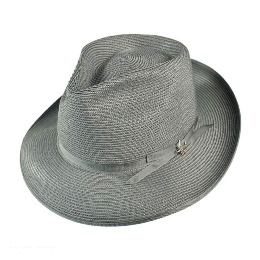 72d38256b26a2 Stetson Stratoliner Milan Straw Fedora Hat All Fedoras