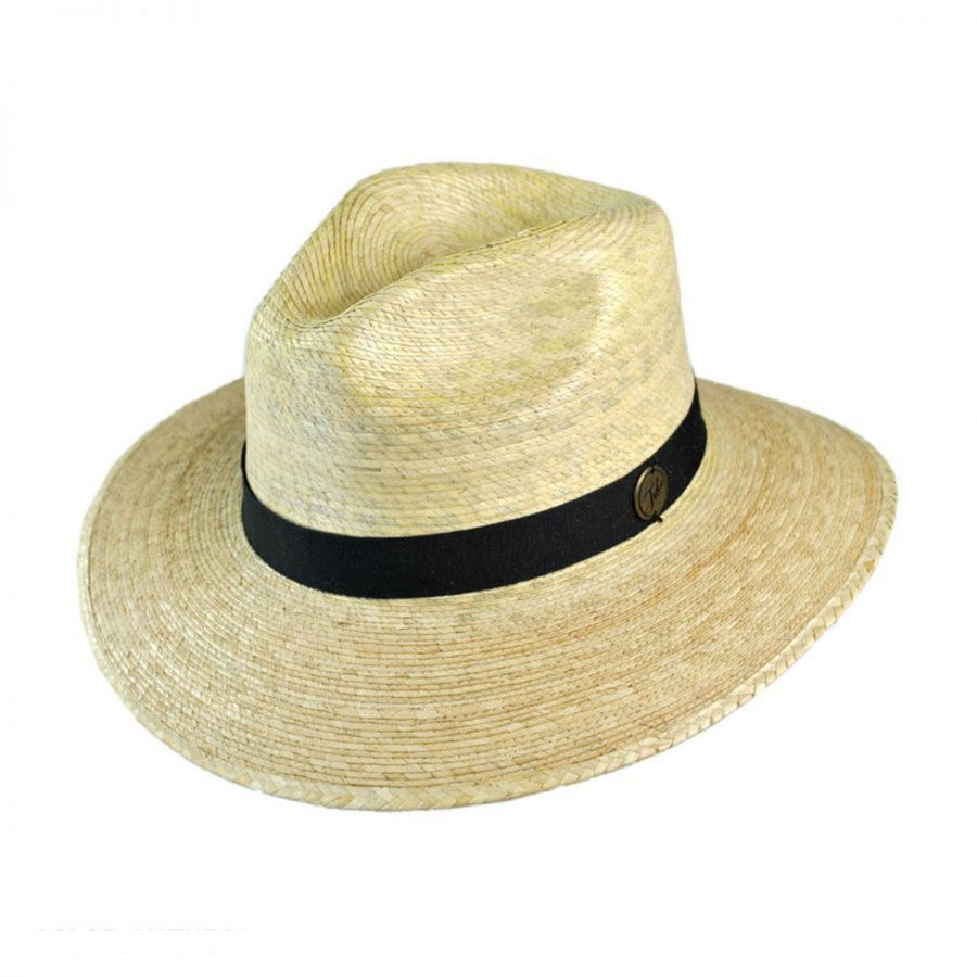 d927e211d68 Tula Hats Explorer Palm Straw Safari Fedora Hat Sun Protection