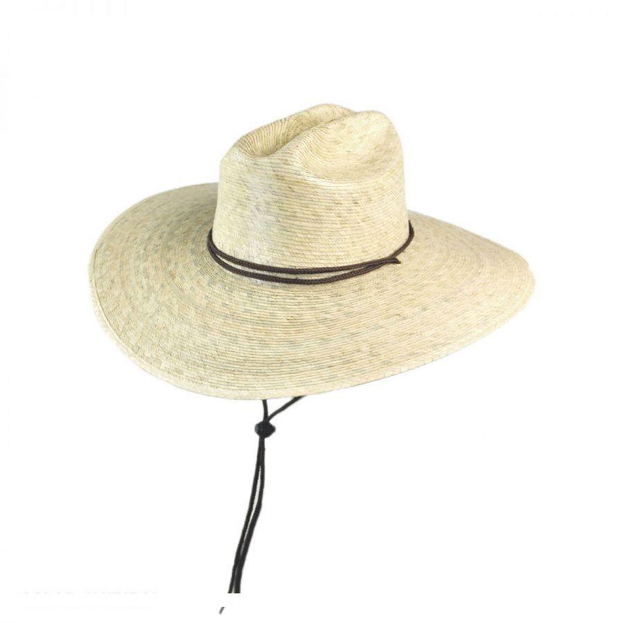 6073f372a Lifeguard Palm Straw Hat