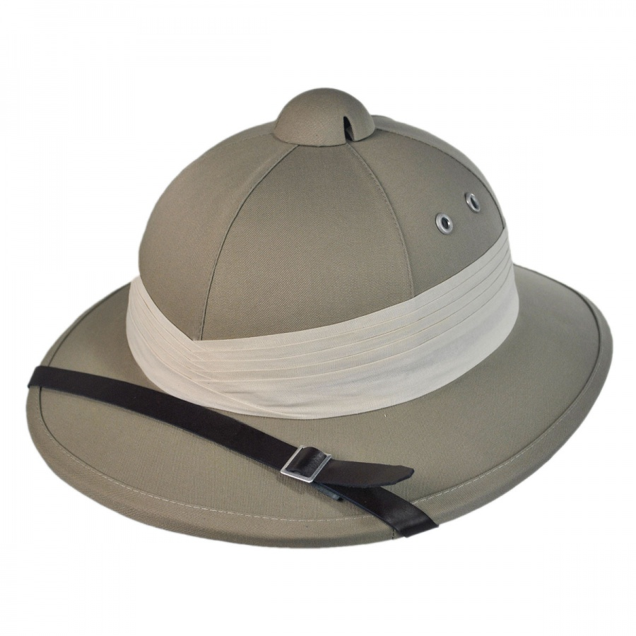 Village Hat Shop African Safari Pith Helmet Helmets