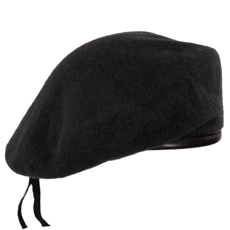 Village Hat Shop Military Wool Beret Berets 5433420ac84