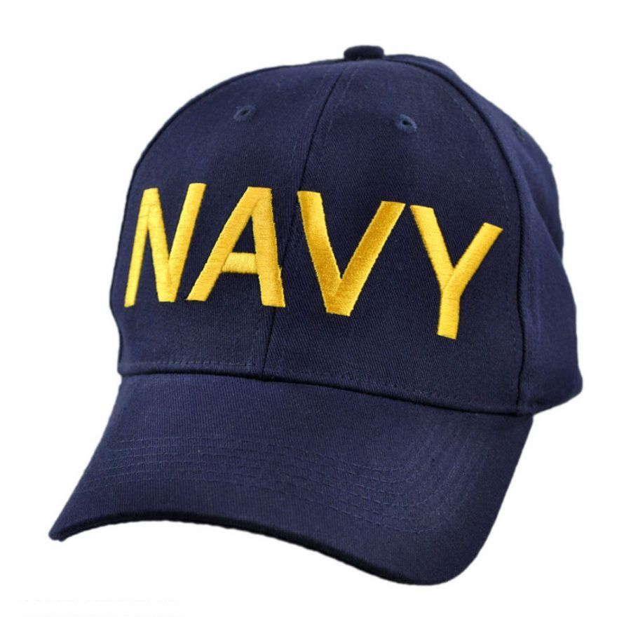 Navy Adjustable Baseball Cap alternate view 1 4a3c3e5866d