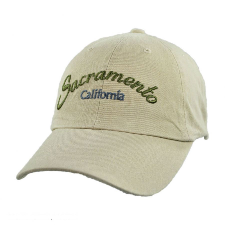 Village Hat Shop Sacramento Adjustable Baseball Cap Dad Hat All ... d3e2c29bc22