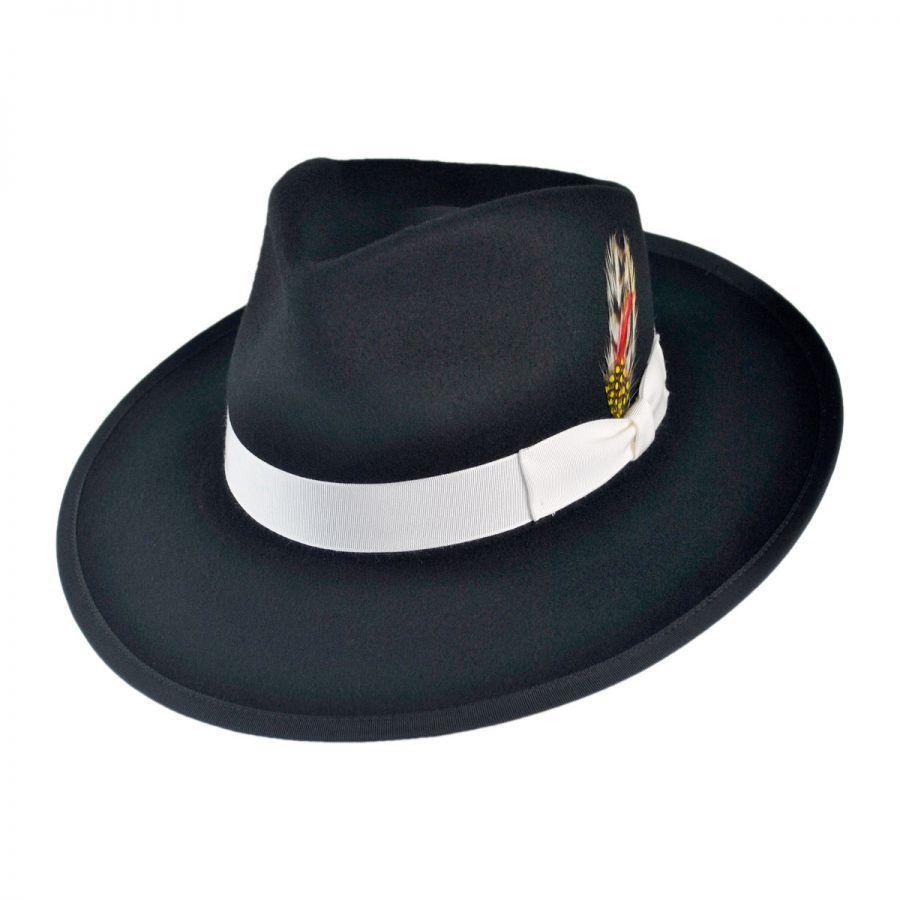 7dbbb7f8178 Jaxon Hats Made in the USA - Classics Zoot Wool Felt Fedora Hat All ...