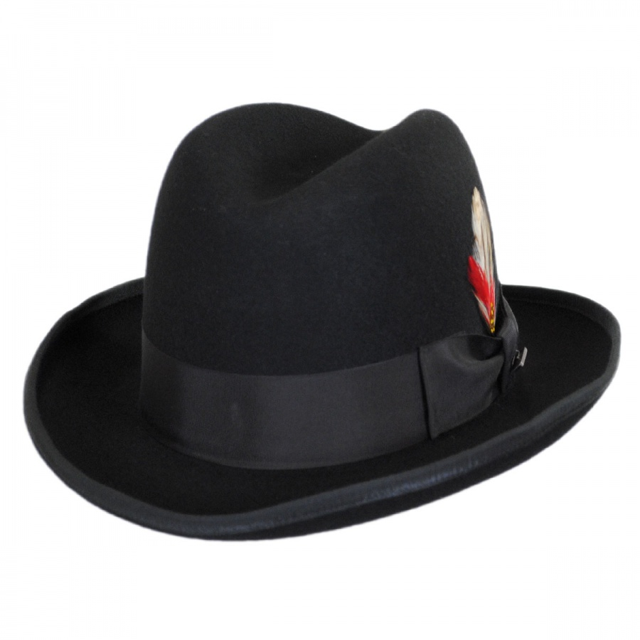 e68a8722d95 Jaxon Hats Made in the USA - Classics Godfather Hat by Jaxon and James