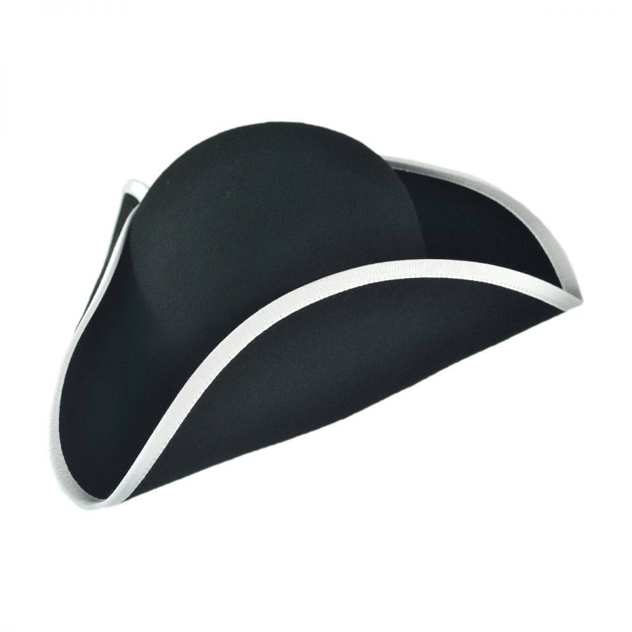 Jaxon Hats Made in the USA - Classics Wool Felt Tricorn Hat Novelty ... 651186ce72