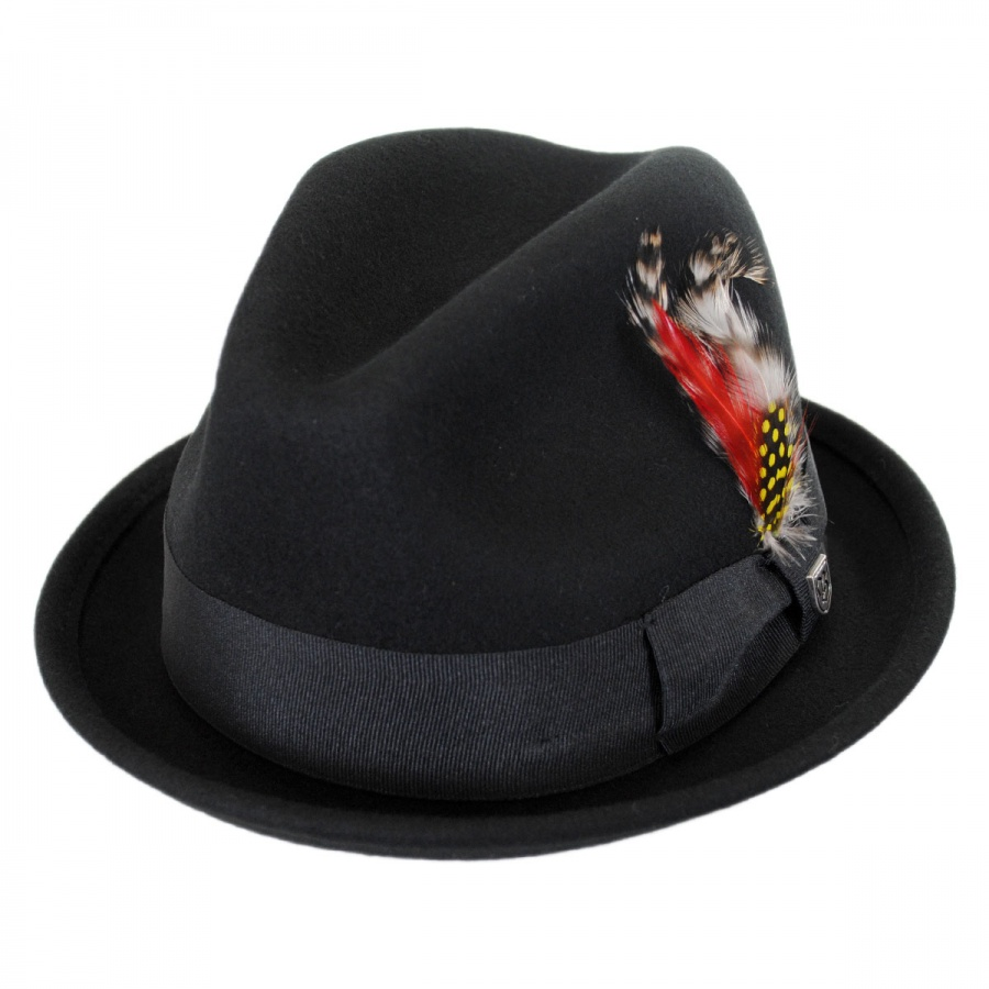 Mens Crushable Wool Felt Hats Village Hat Shop | Male ...