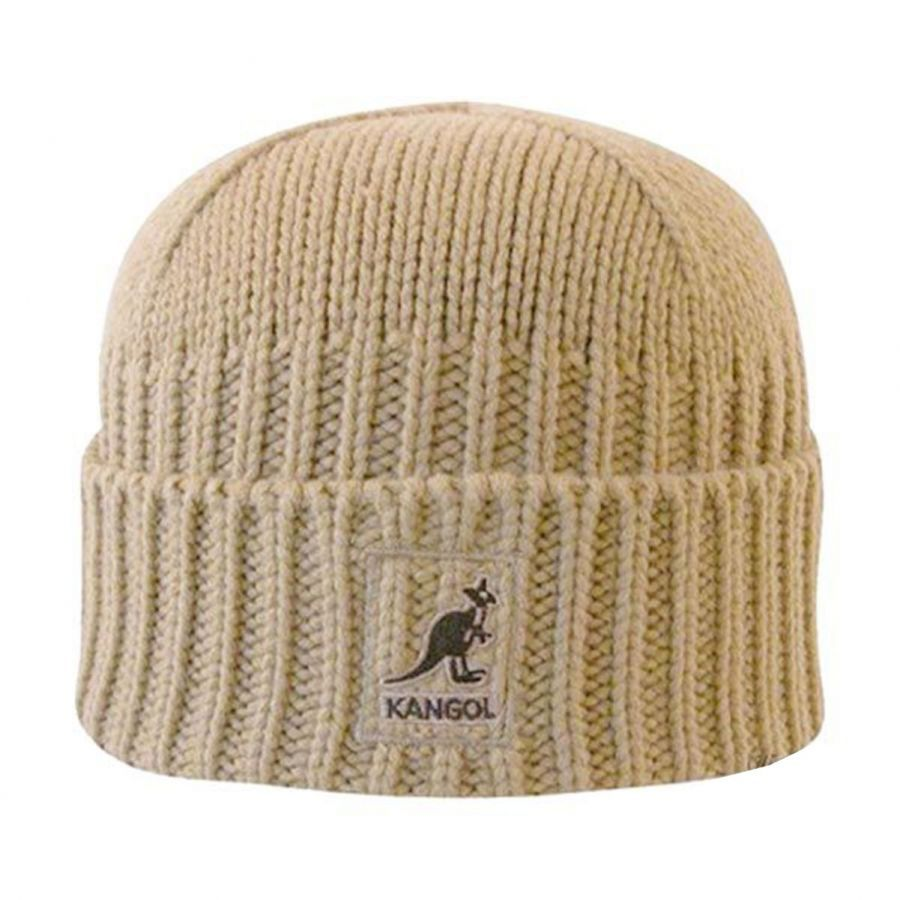 Fully Fashioned Knitting : Kangol fully fashioned cuff pull on knit beanie hat beanies