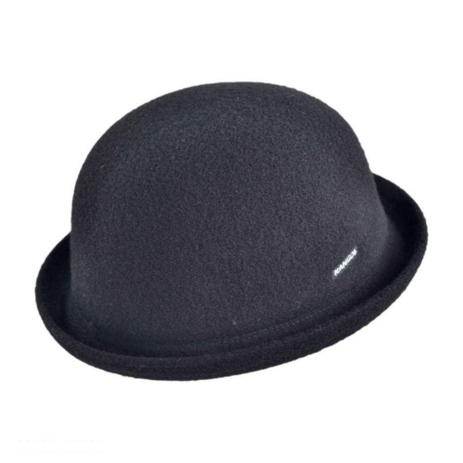 Kangol Wool Bombin Bowler Hat Derby   Bowler Hats 1fbc963f61c