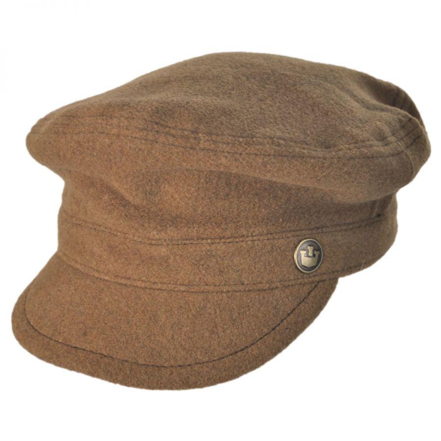 Fishermans Hat: Goorin Bros Dimitra Fisherman Cap Greek Fisherman Caps