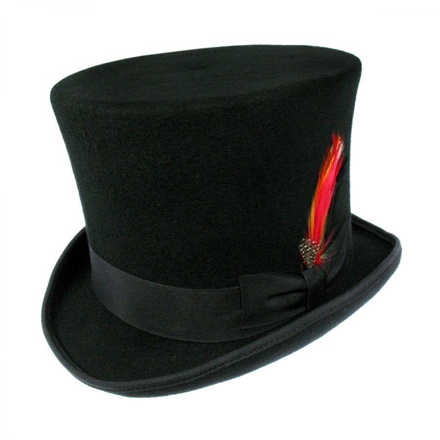 B2B Jaxon Victorian Top Hat Black Top Hats