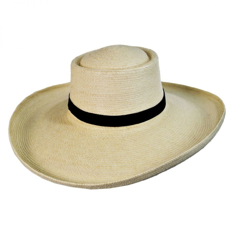 SunBody Hats Sam Houston Planter Guatemalan Palm Leaf Straw Hat ... 23b36e987e