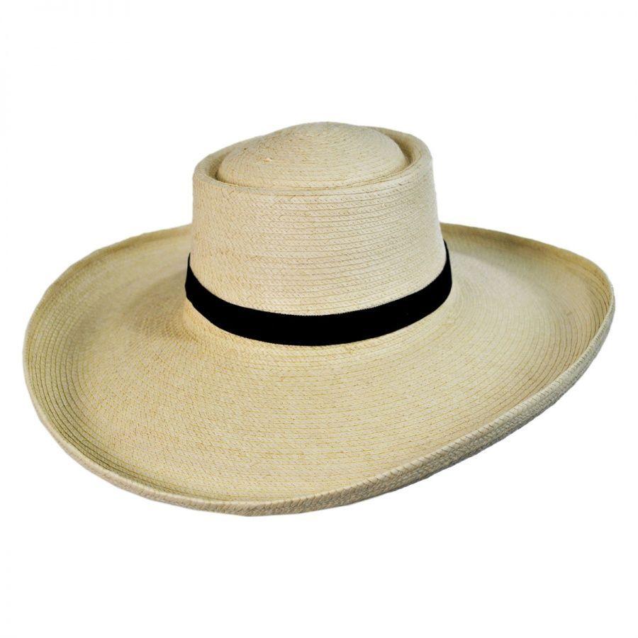 3c39b36af2501 SunBody Hats Sam Houston Planter Guatemalan Palm Leaf Straw Hat ...