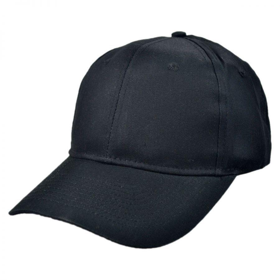KC Caps Pro Cotton Twill Snapback Baseball Cap All ...