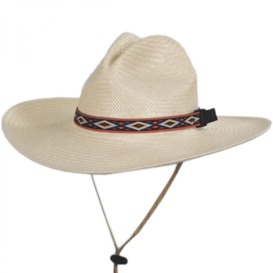 Riverz by san francisco hat company scout techstraw gus for Fishing straw hat