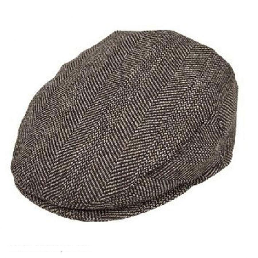 bd89fd0fed224 Jaxon Hats Mix Herringbone Wool Blend Ivy Cap Flat Caps (View All)