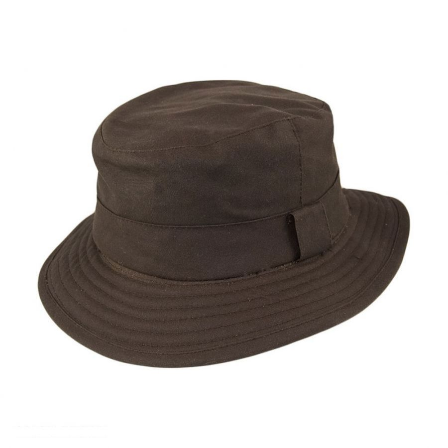 Jaxon Hats Oilcloth Bucket Hat Bucket Hats