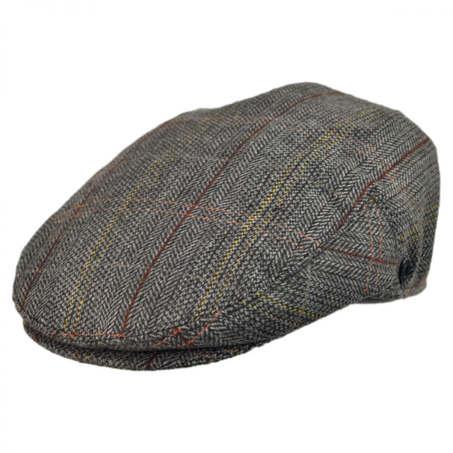 Jaxon Hats Tweed Wool Blend Ivy Cap Flat Caps (View All)