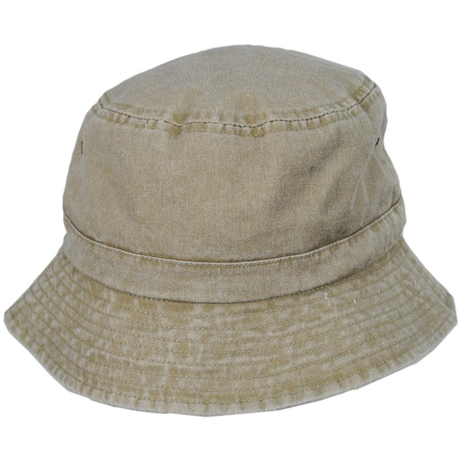 789f530ac69055 Village Hat Shop VHS Cotton Bucket Hat - Khaki Bucket Hats