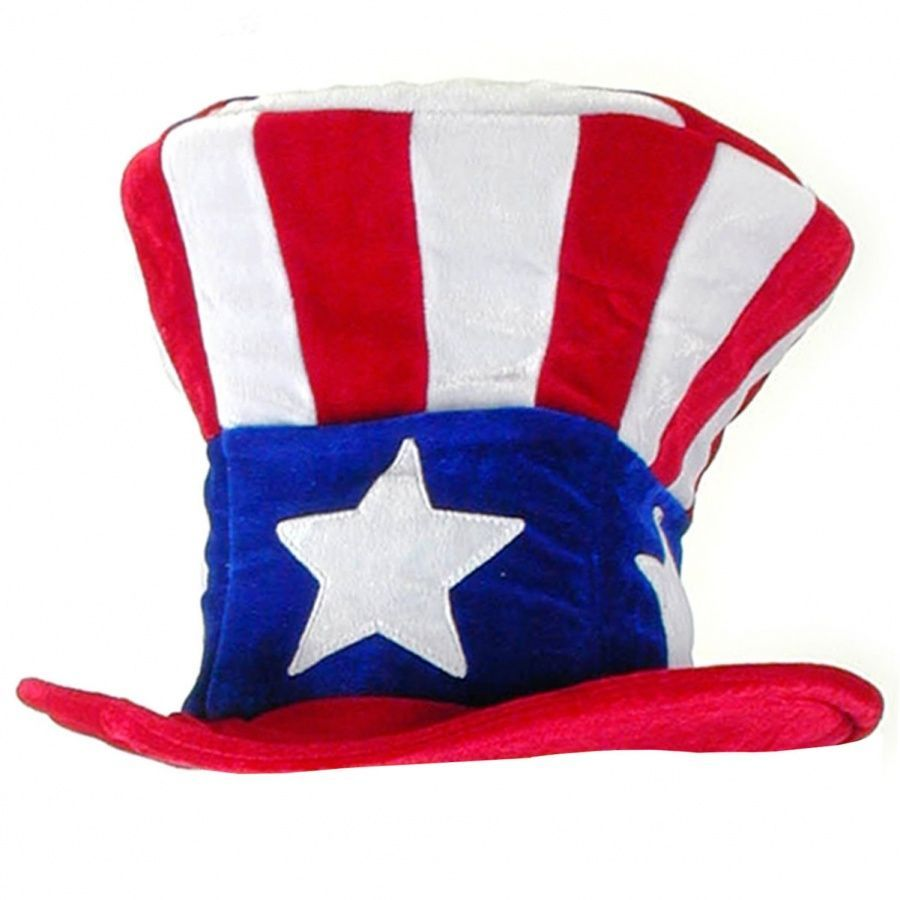 Elope Uncle Sam Mad Hatter Top Hat - Adult Top Hats bf9d3fe6e120