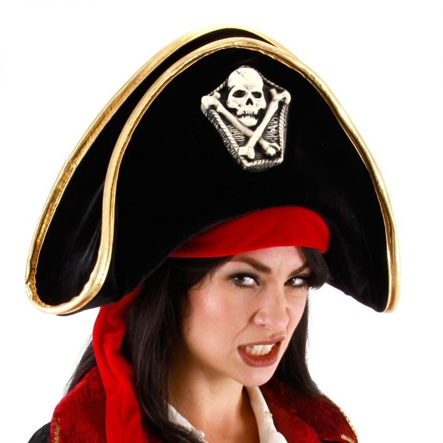 Bicorn Hat: Elope Pirate Bicorn Hat Novelty Hats