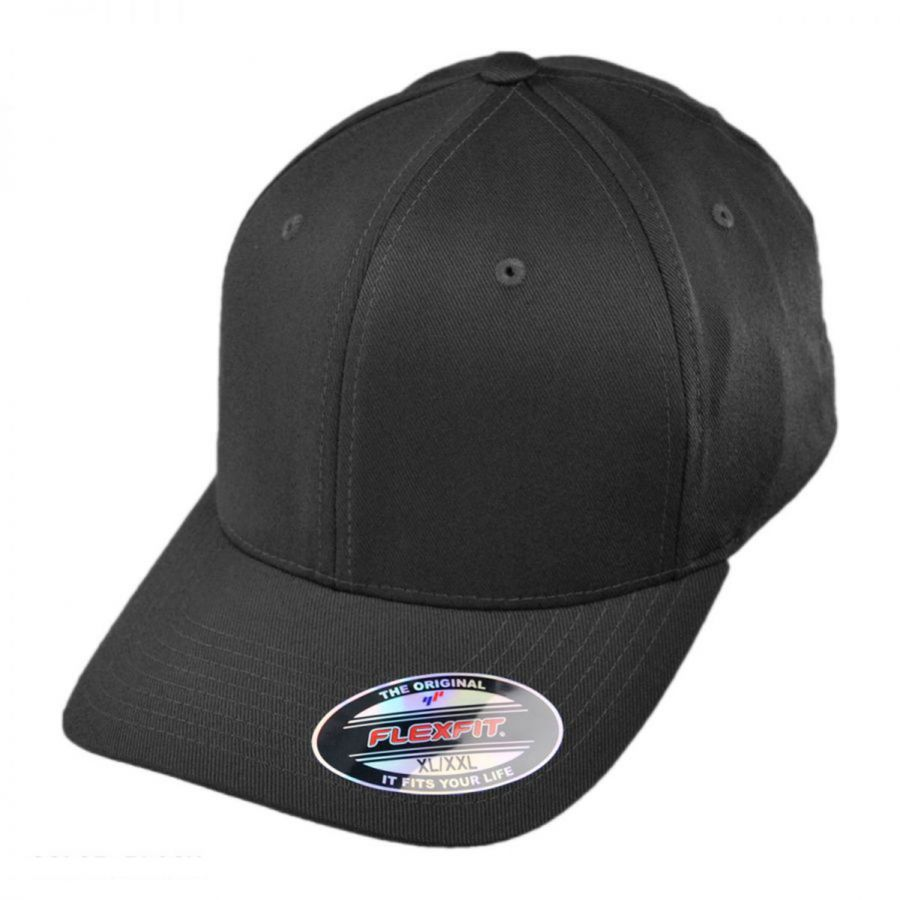 25f868137385a6 Combed Twill MidPro FlexFit Fitted 7 3/8 - 8 Baseball Cap alternate view 1