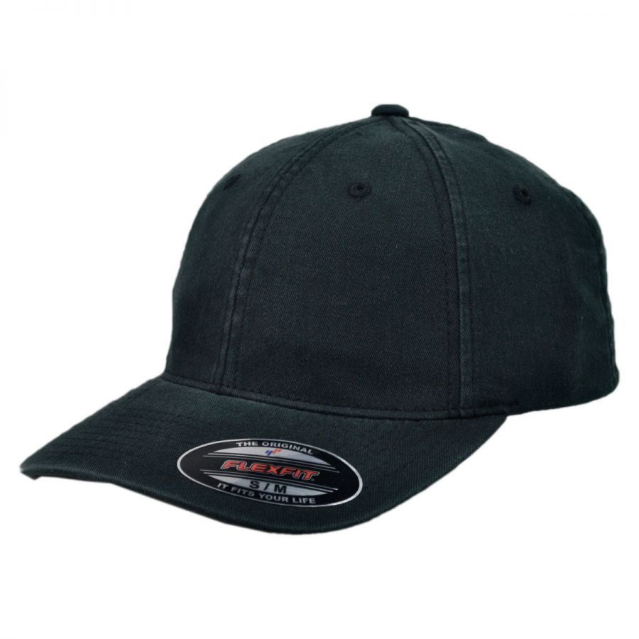 f19630b5a3a8b1 Garment Washed Twill LoPro FlexFit Fitted Baseball Cap alternate view 1