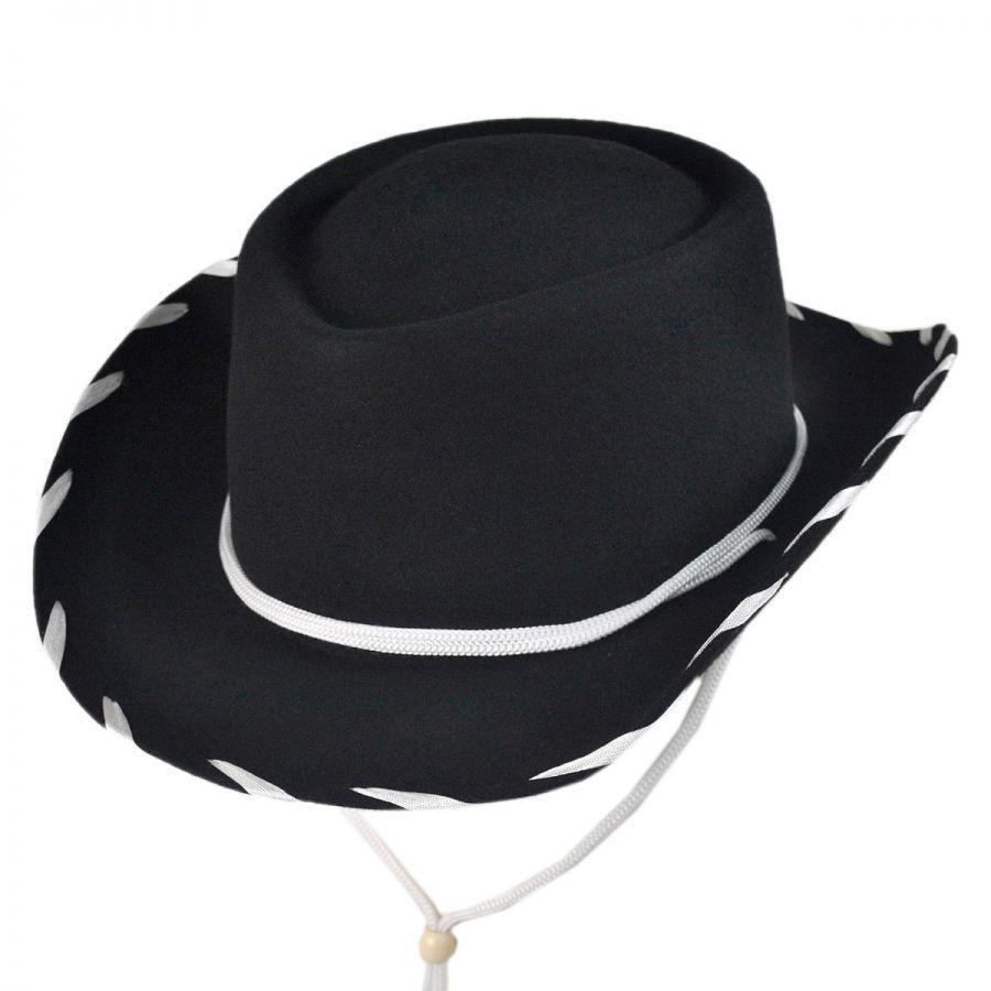 Jaxon Hats Kids  Classic Wool Felt Cowboy Hat Boys 872f556d9d7f