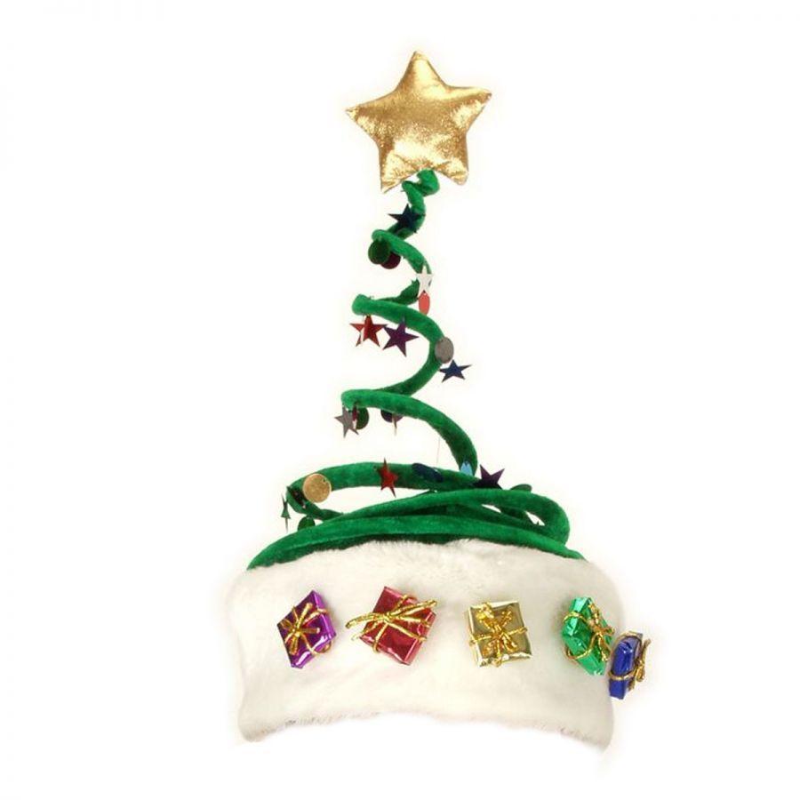 Christmas Tree Hats: Elope Springy Christmas Tree Hat Novelty Hats