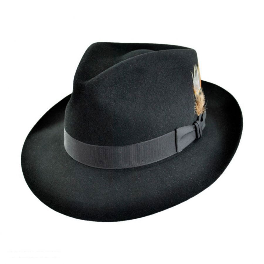 Stetson Downs Fur Felt Fedora Hat All Fedoras 21f8cec0263
