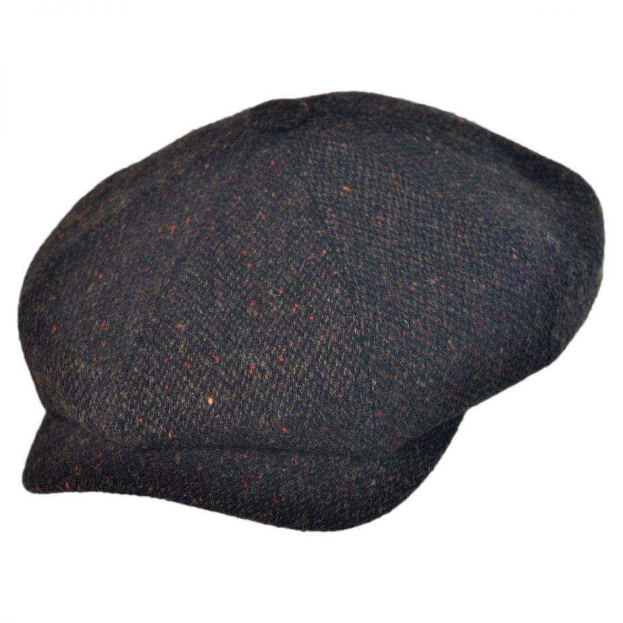 Wigens Caps Magee Tic Weave Lambswool Newsboy Cap Newsboy Caps 06f790b9ab5