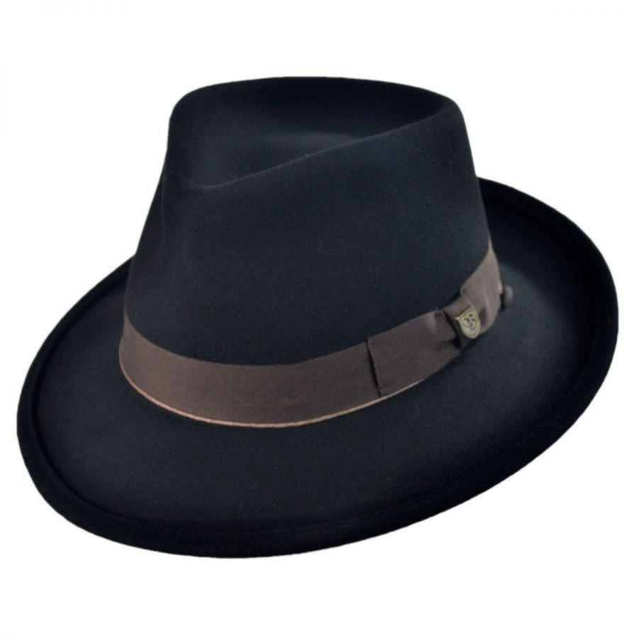 brixton hats swindle fedora hat all fedoras
