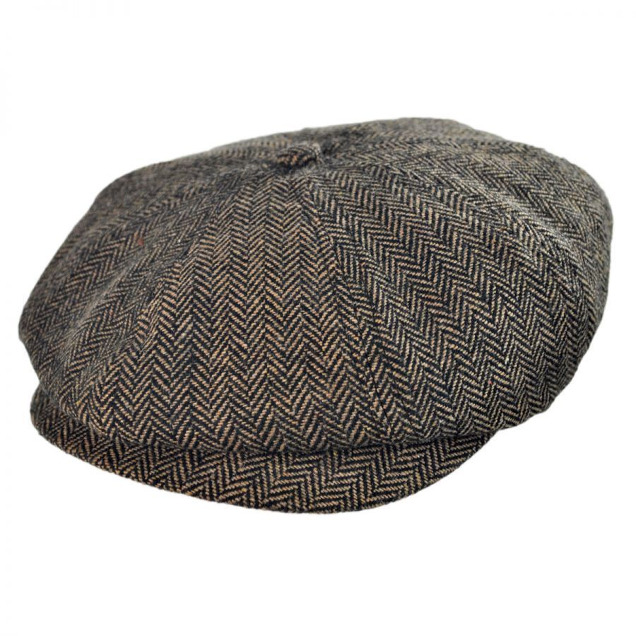 Brixton Hats Toddler Lil Brood Herringbone Newsboy Cap Kids Flat Caps 05cf06f71d8