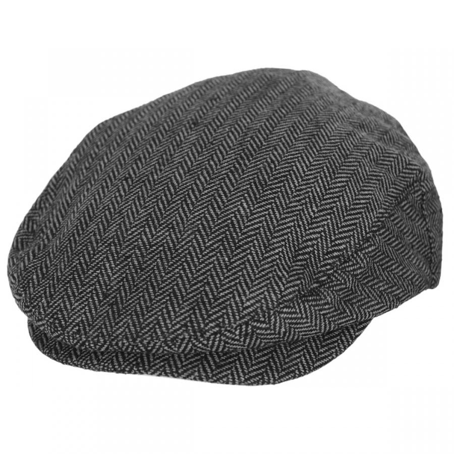 9d335a76bb0 Brixton Hats Hooligan Herringbone Wool Blend Ivy Cap Ivy Caps