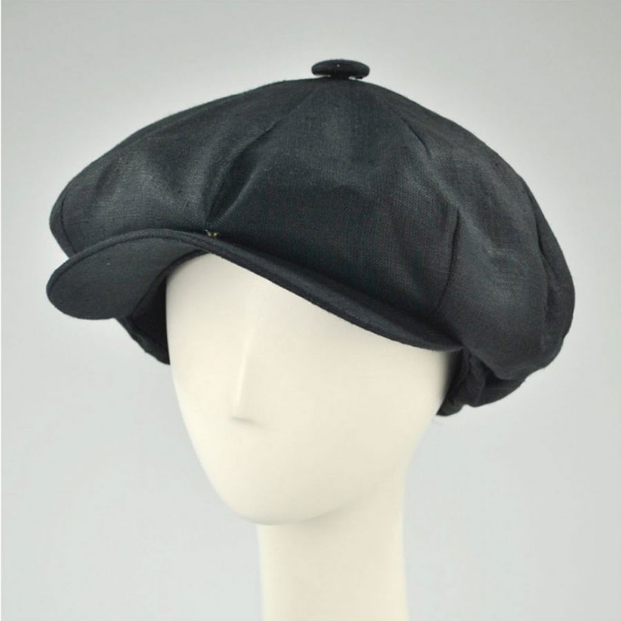 New York Hat Company Linen Big Apple Cap Newsboy Caps 9adc26922093