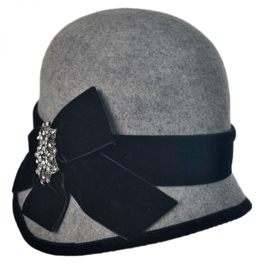 Toucan Vintage Pin Cloche Hat