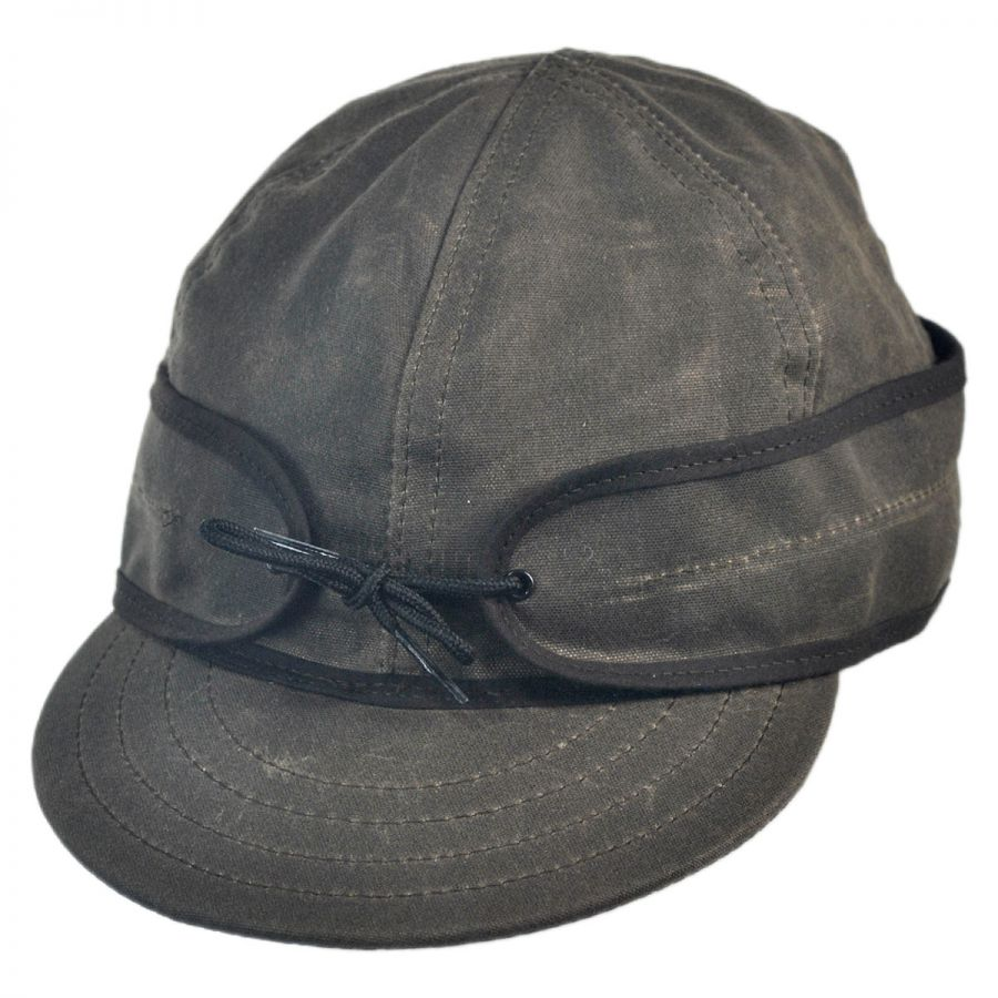 Stormy Kromer Waxed Cotton Cap Hat Cold Weather
