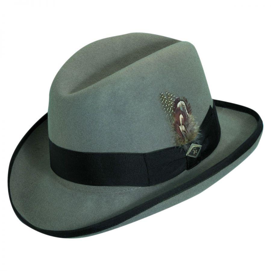 Stacy Adams Homburg Hat All Fedoras