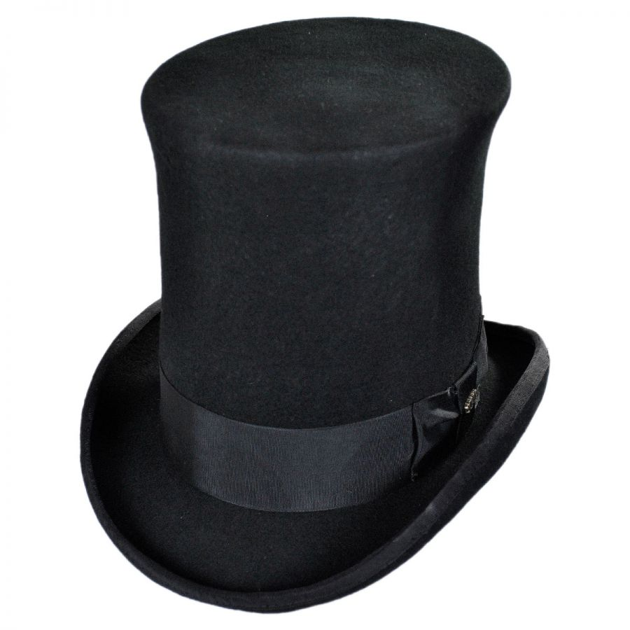 Scala Victorian Tall Top Hat Top Hats