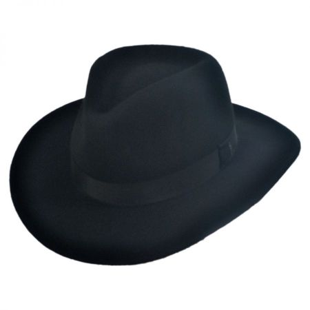 Bailey Ellsworth Litefelt Crushable Fedora Hat