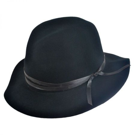 Bailey Obie 4oz Wool Felt Crushable Fedora Hat