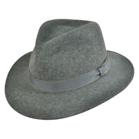 Bailey Artis Lanolux Crushable Fedora Hat