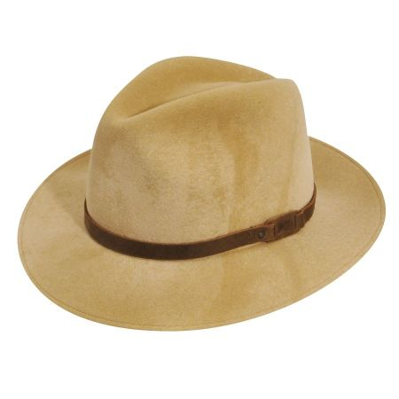 Bailey Wardell Lanolux Crushable Fedora Hat