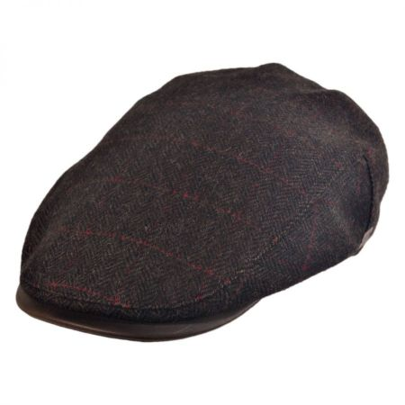 Bailey Casper Herringbone Plaid Ivy Cap