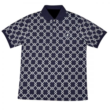 Kangol Argyle Tex Polo Shirt