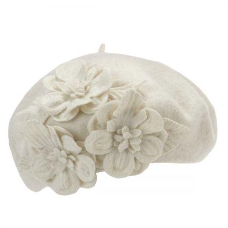 Betmar Flower Beret
