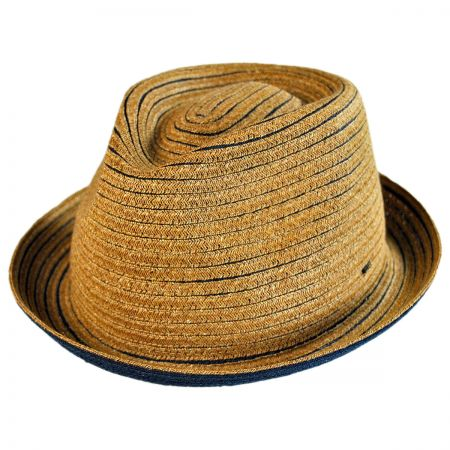 Bailey Hallin Sewn Braid Fedora Hat