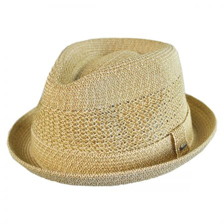 Bailey Kroft Sewn Braid Fedora Hat